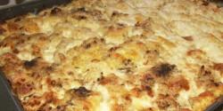 Tepsis-sajtos csirkemell
