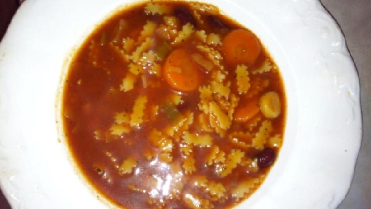 Minestrone leves ahogy Linda készíti