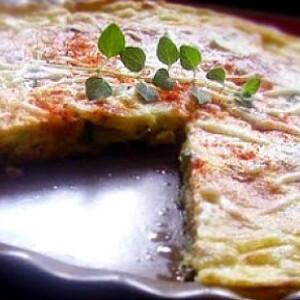 Cukkinis spanyol tortilla