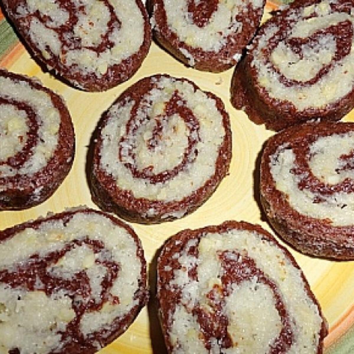 Kókuszos csiga Glaser konyhájából