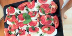 Capri saláta egyszerűen