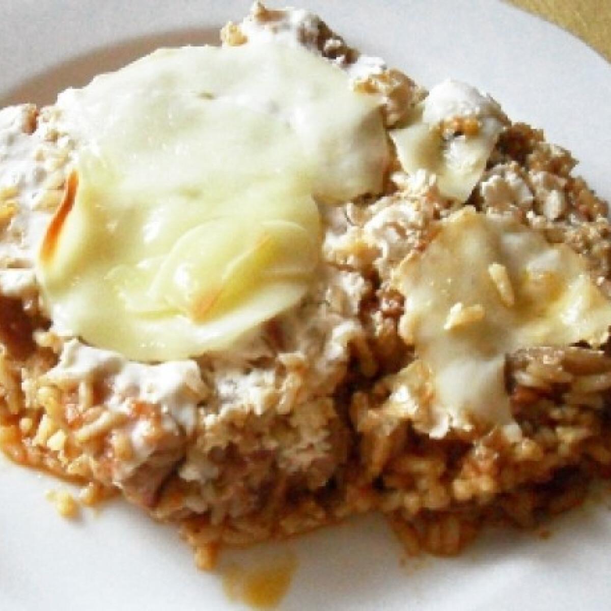 Ezen a képen: Bátaszéki rizses hús