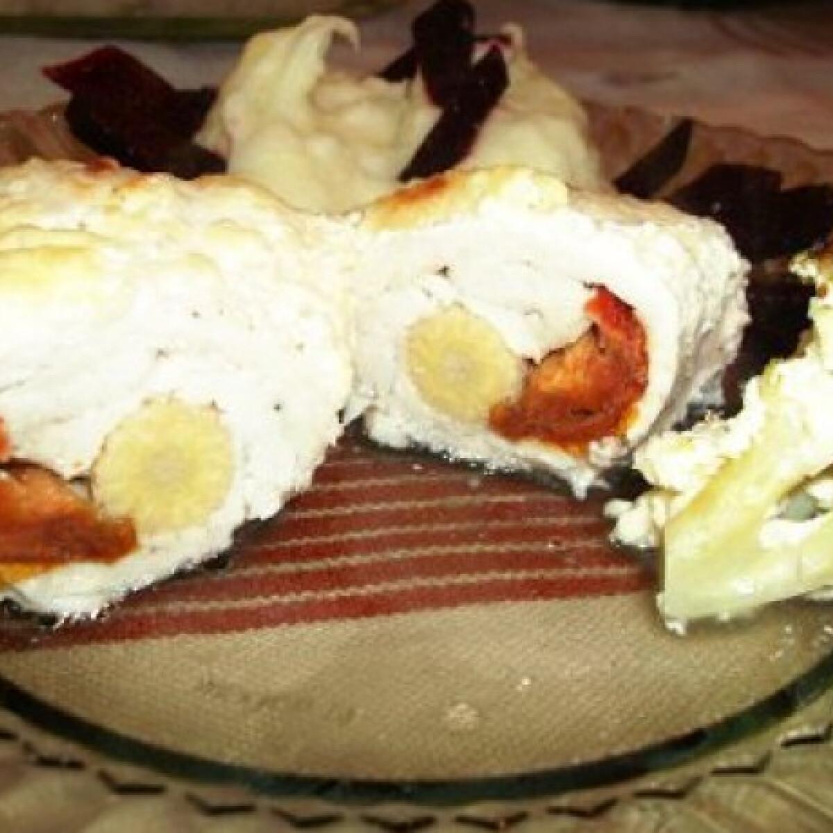 Ezen a képen: Csőben sült töltött csirkemell brokkolival