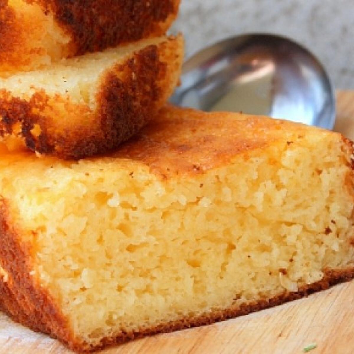 Ezen a képen: Citromos süti Epercsók konyhájából