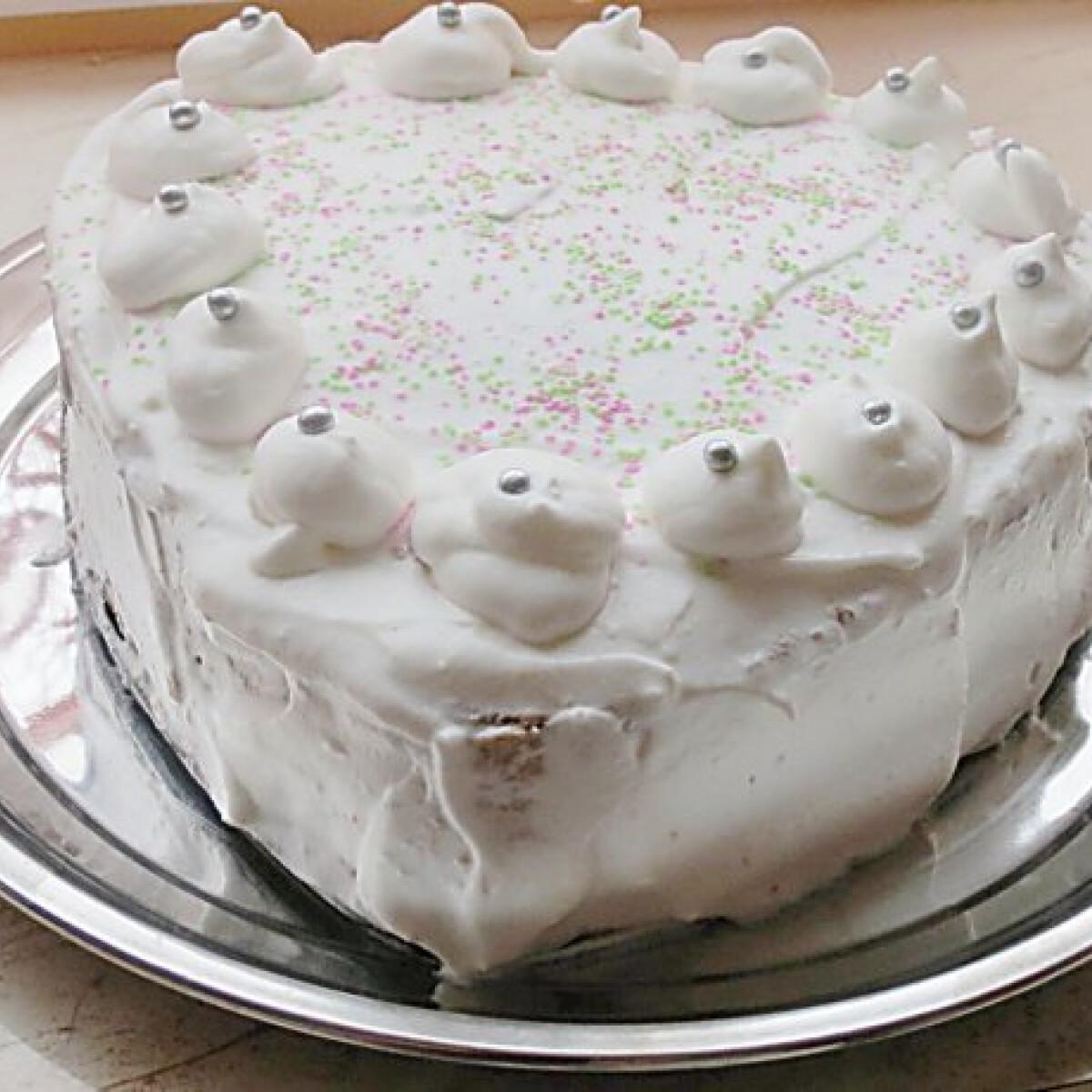 Ezen a képen: Pudingos torta Clya konyhájából