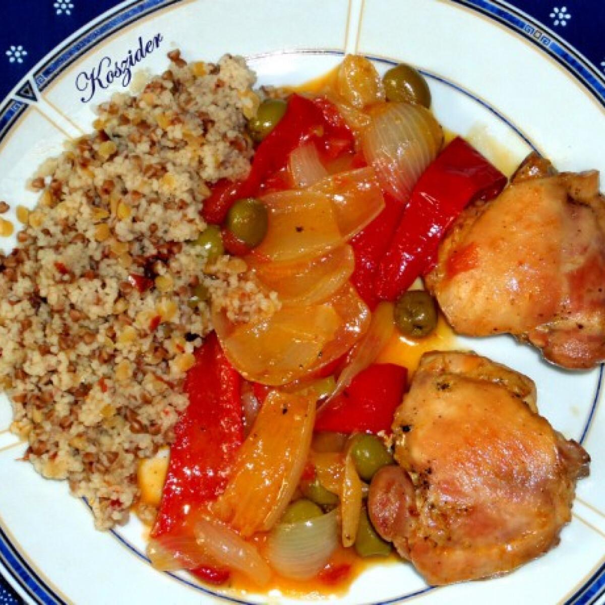 Spanyol csirkecomb Koszider konyhájából