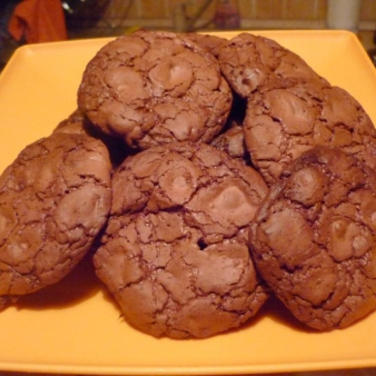 Ezen a képen: Nutellás keksz egyszerűen