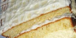 Citromos grízes süti