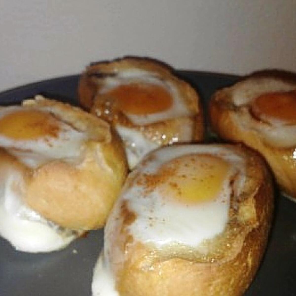 Ezen a képen: Tojásos melegszendvics sütőben