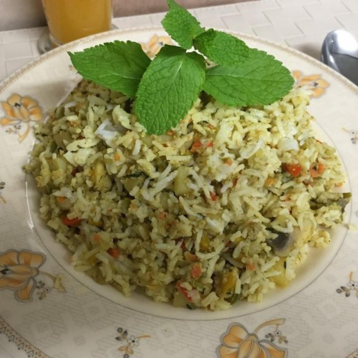 Ezen a képen: Kadhai fried pulao