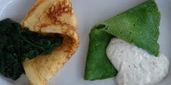 Sajtos omlett párolt spenóttal (Omlett 5.)