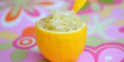 Citrom-lime sorbet