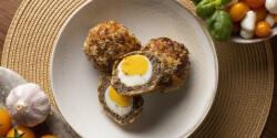 Skót tojás Philips Airfryerben készítve