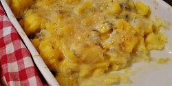 Gorgonzolás polenta