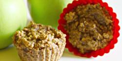 Zabpelyhes almás muffin candida módra