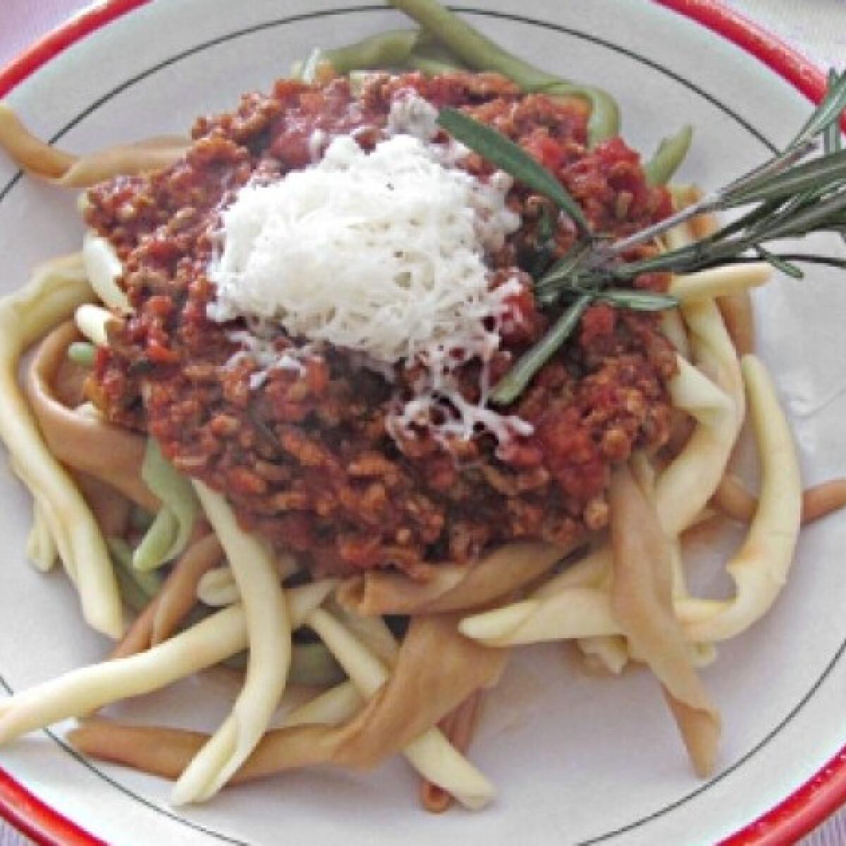 Autentikus olasz húsos ragu