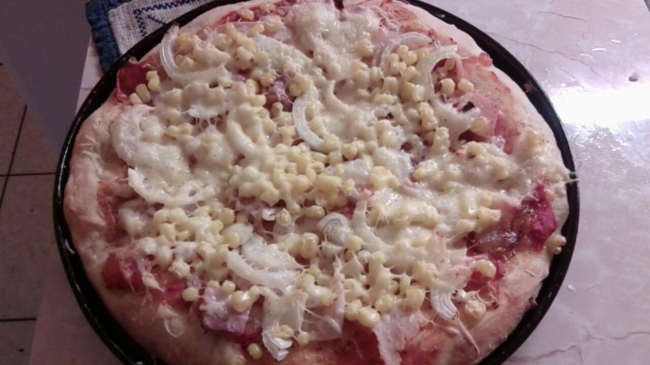 Pizza ahogy Anno készíti