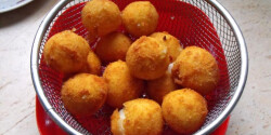 Sült krumpligolyó