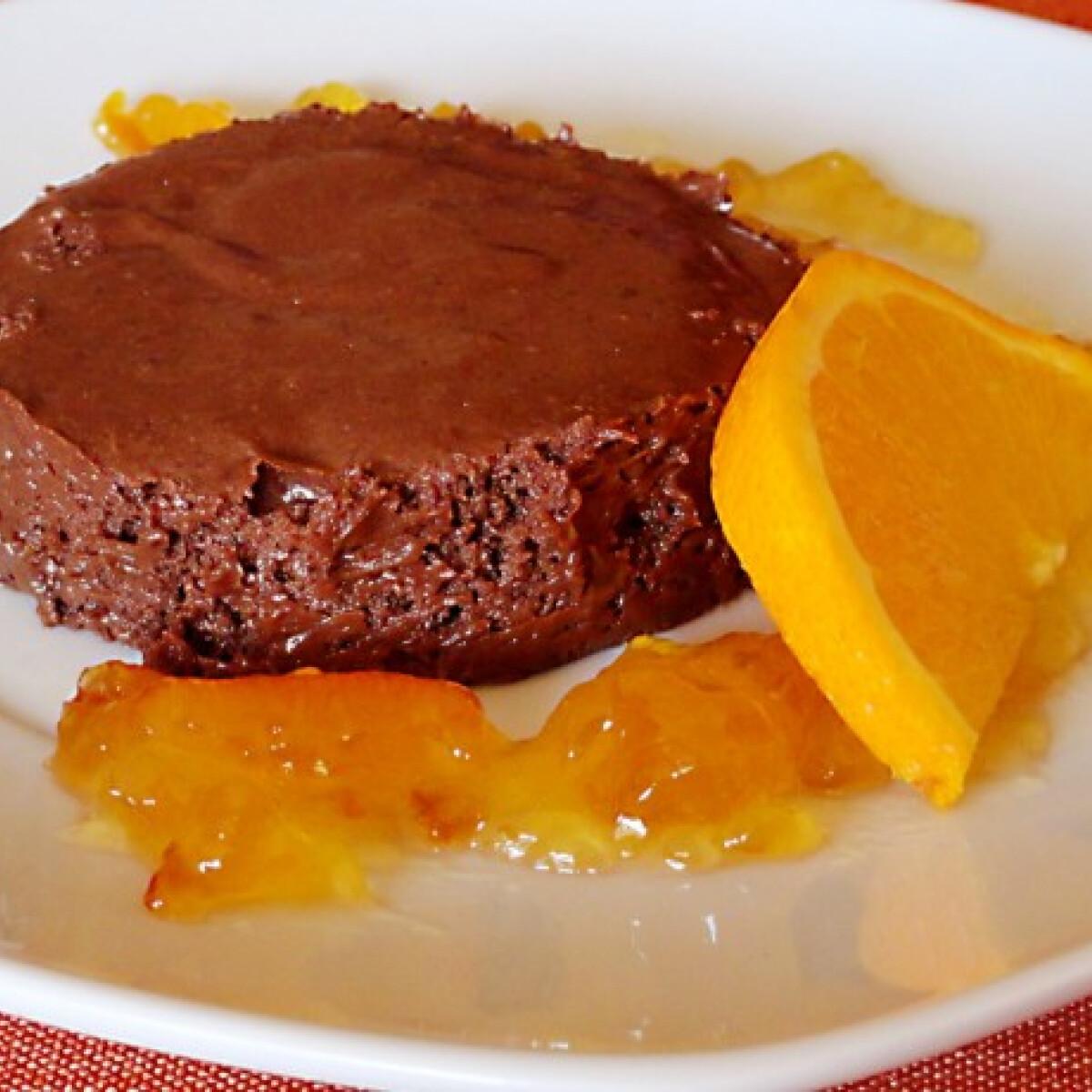 Ezen a képen: Marquise au chocolat