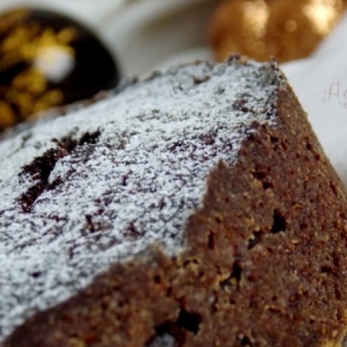 Ezen a képen: Bársonyos csokoládétorta céklával