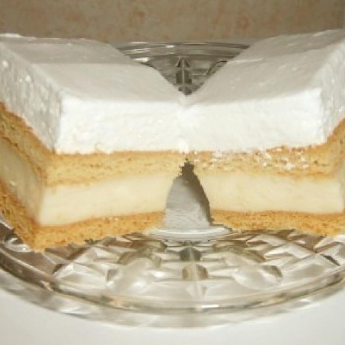 Ezen a képen: Francia krémes 5. - tejszínes, mézes