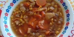 Kínai édes leves