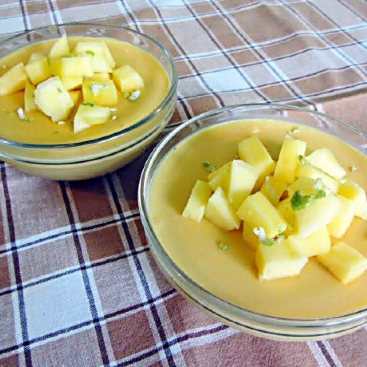 Mangópuding