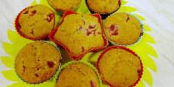 Banános-bogyós muffin