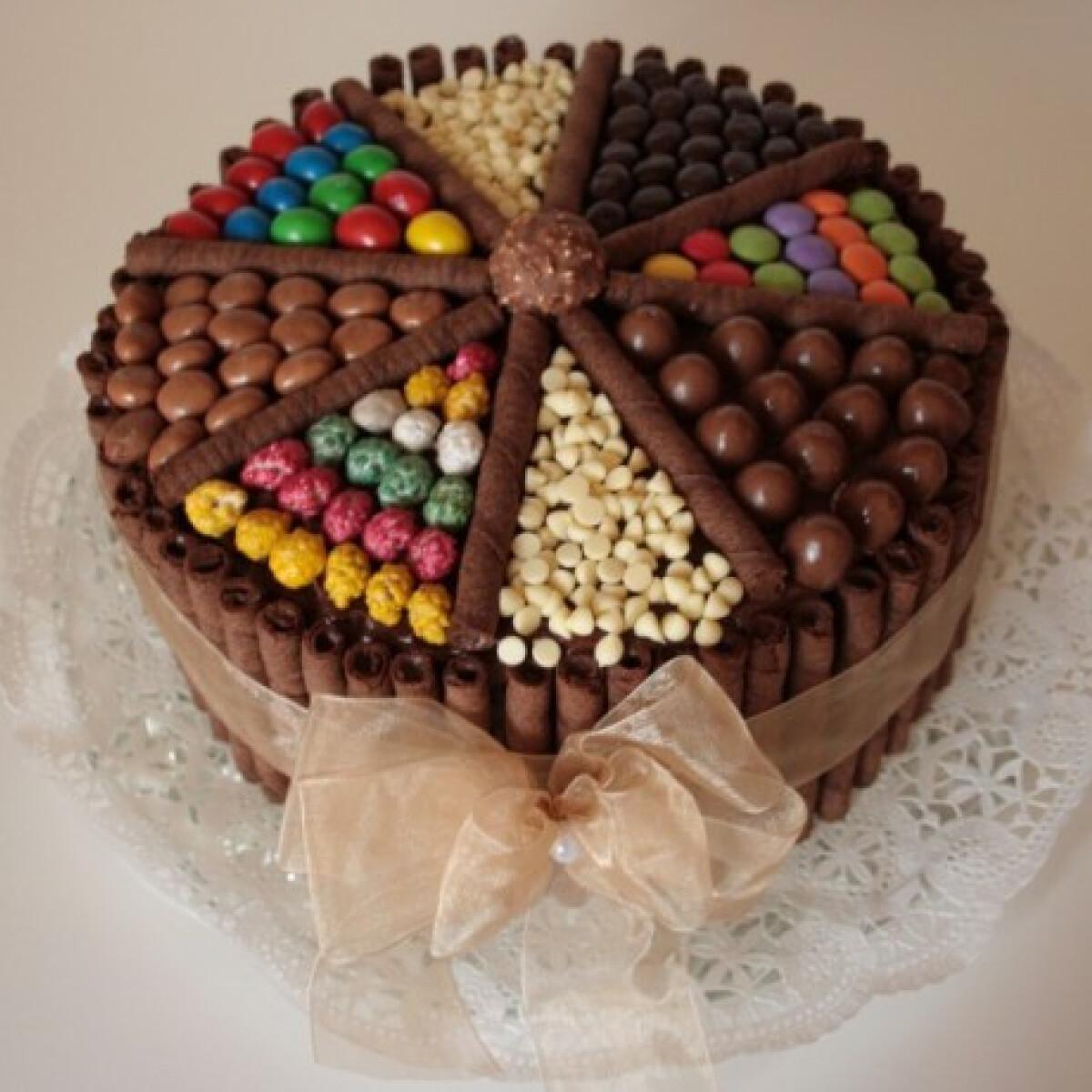 Ezen a képen: Nutellás torta Nyuszikutya konyhájából