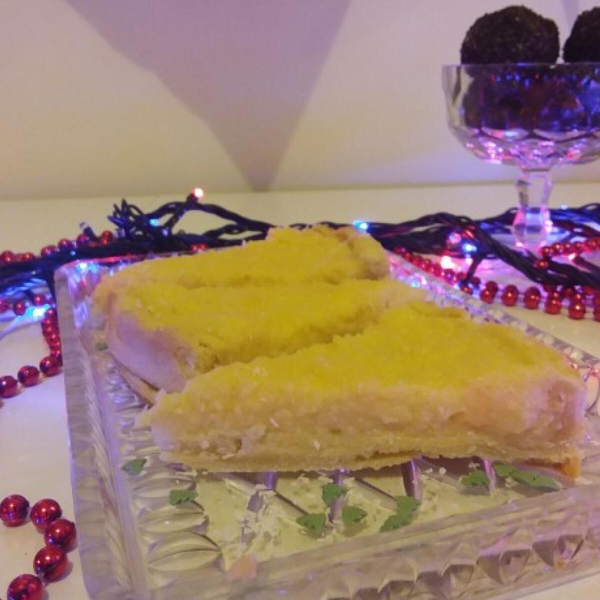 Ezen a képen: Kókuszkrémes pite az iCarlyból