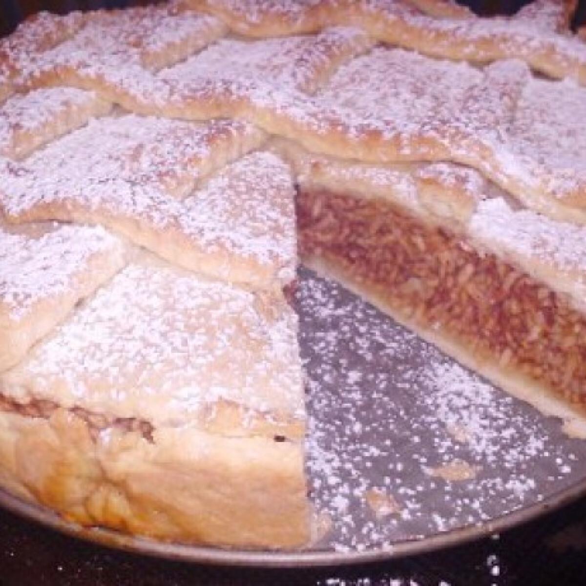 Ezen a képen: Almás pite Julcsitól