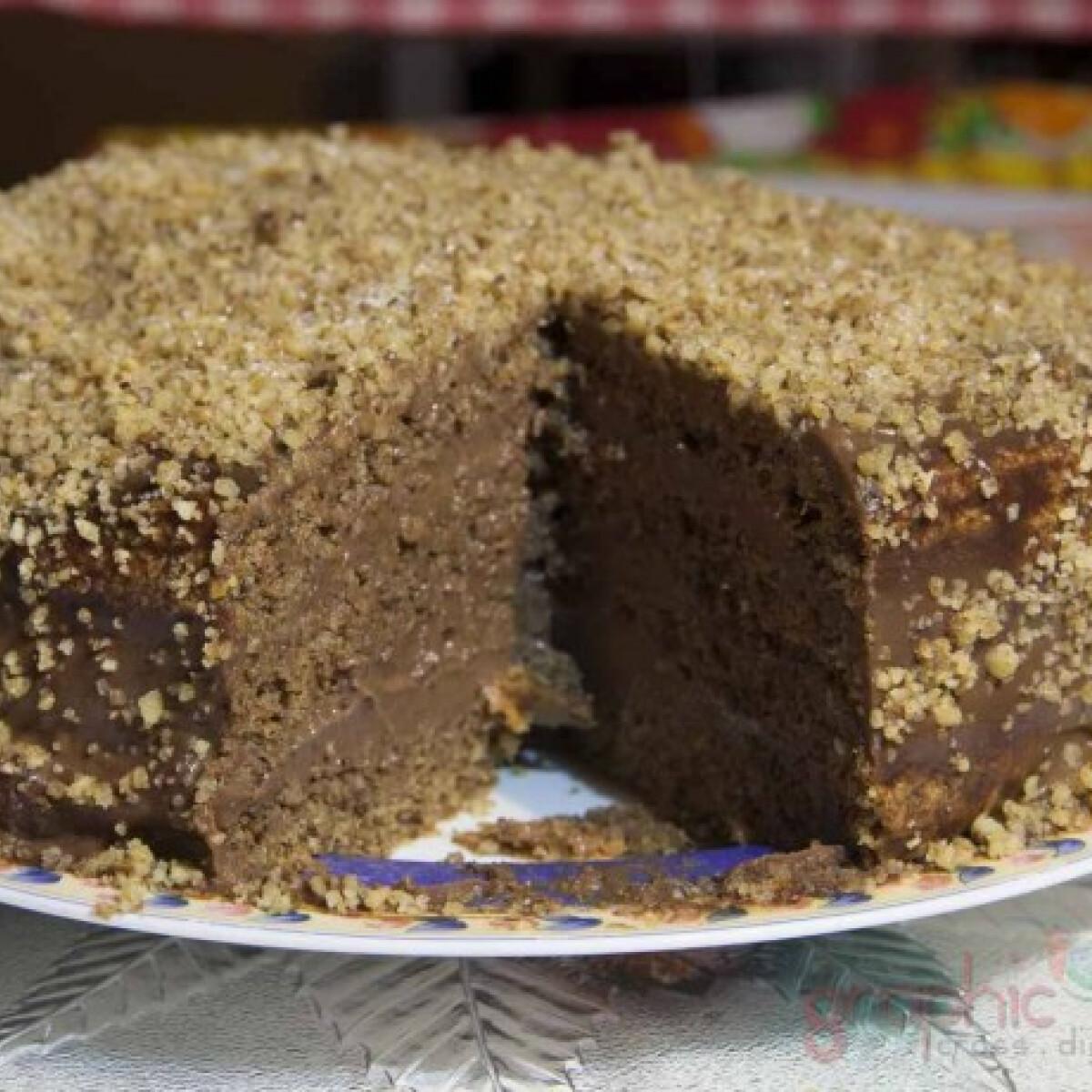 Ezen a képen: Frankfurti torta