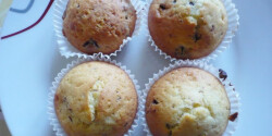 Csokidarabos muffin Évi konyhájából