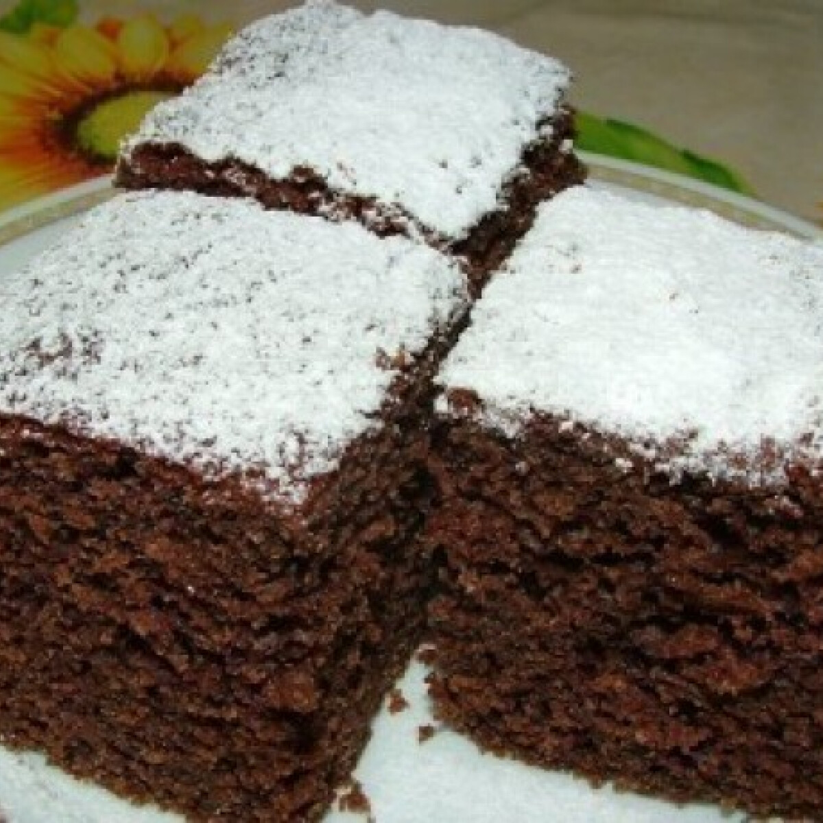 Ezen a képen: Isteni kakaós süti