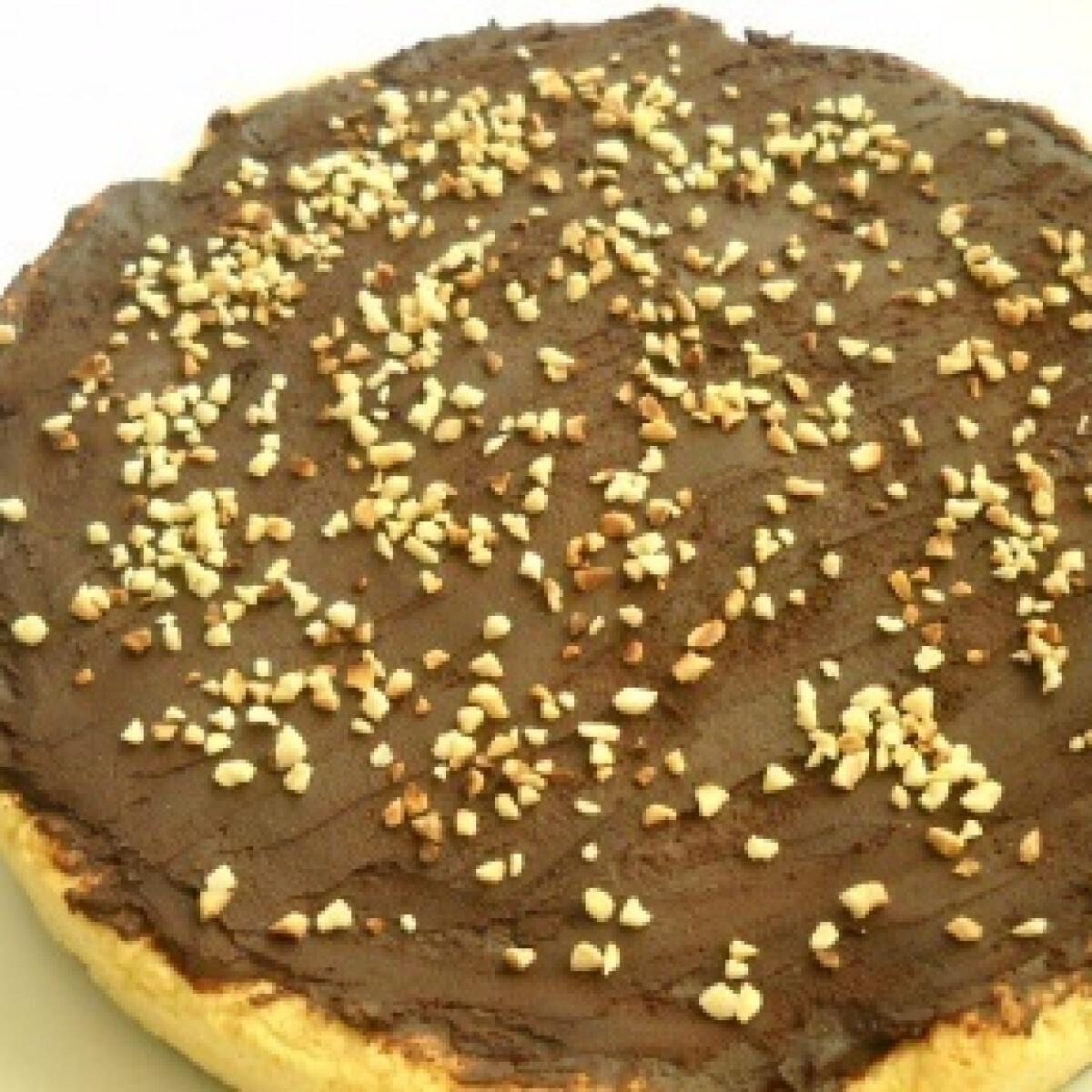Ezen a képen: Csokoládés pite