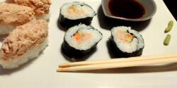 Majonézes tonhalsushi- és maki