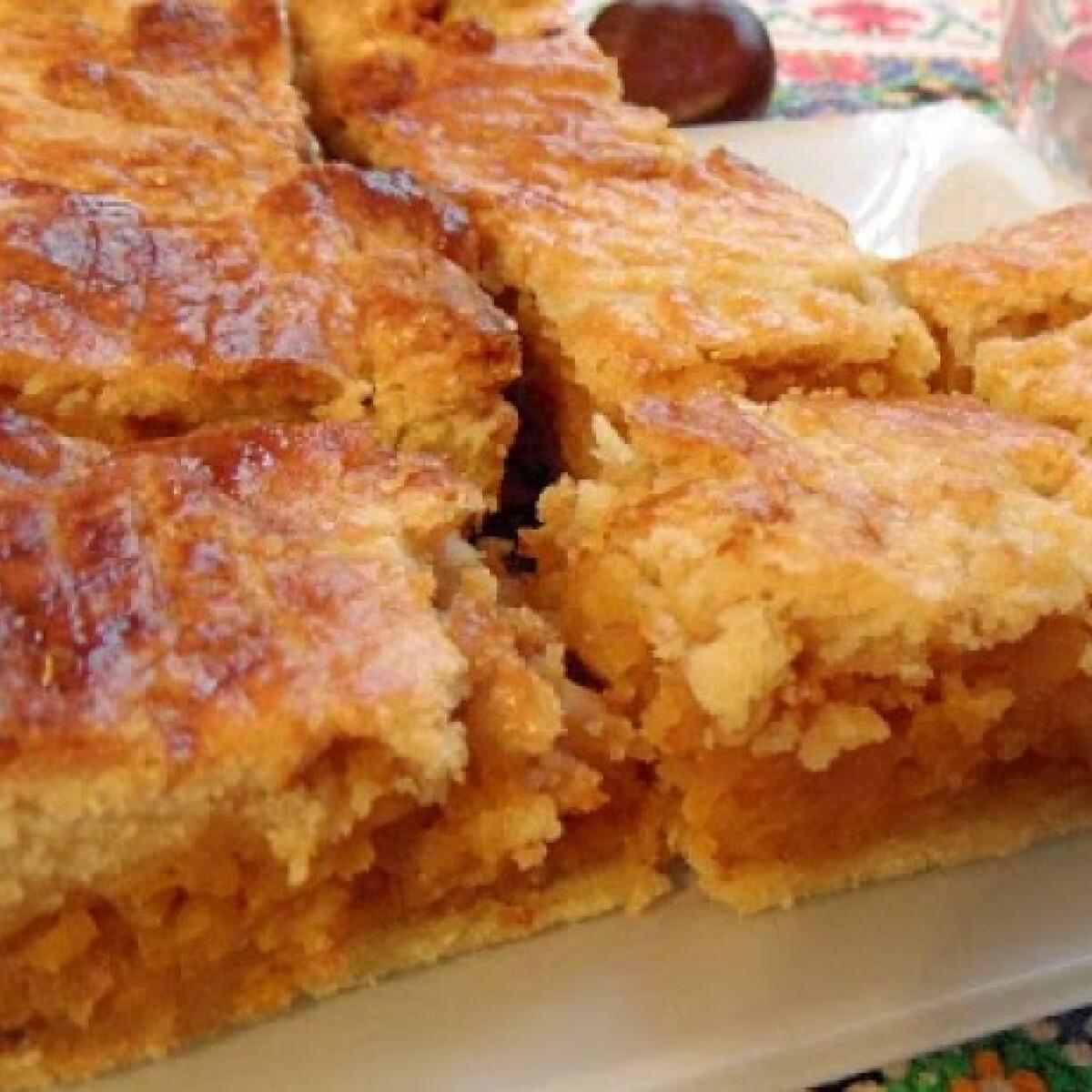 Sütőtökös-almás lepény