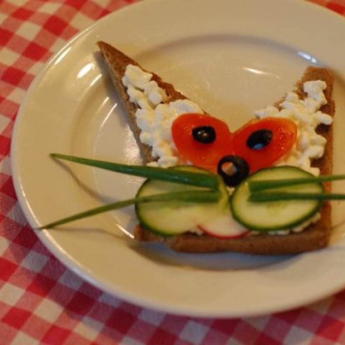 Ezen a képen: Cicás szendvics