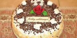 Isteni kókuszkrémes torta - Kókuszkrém-torta 2.