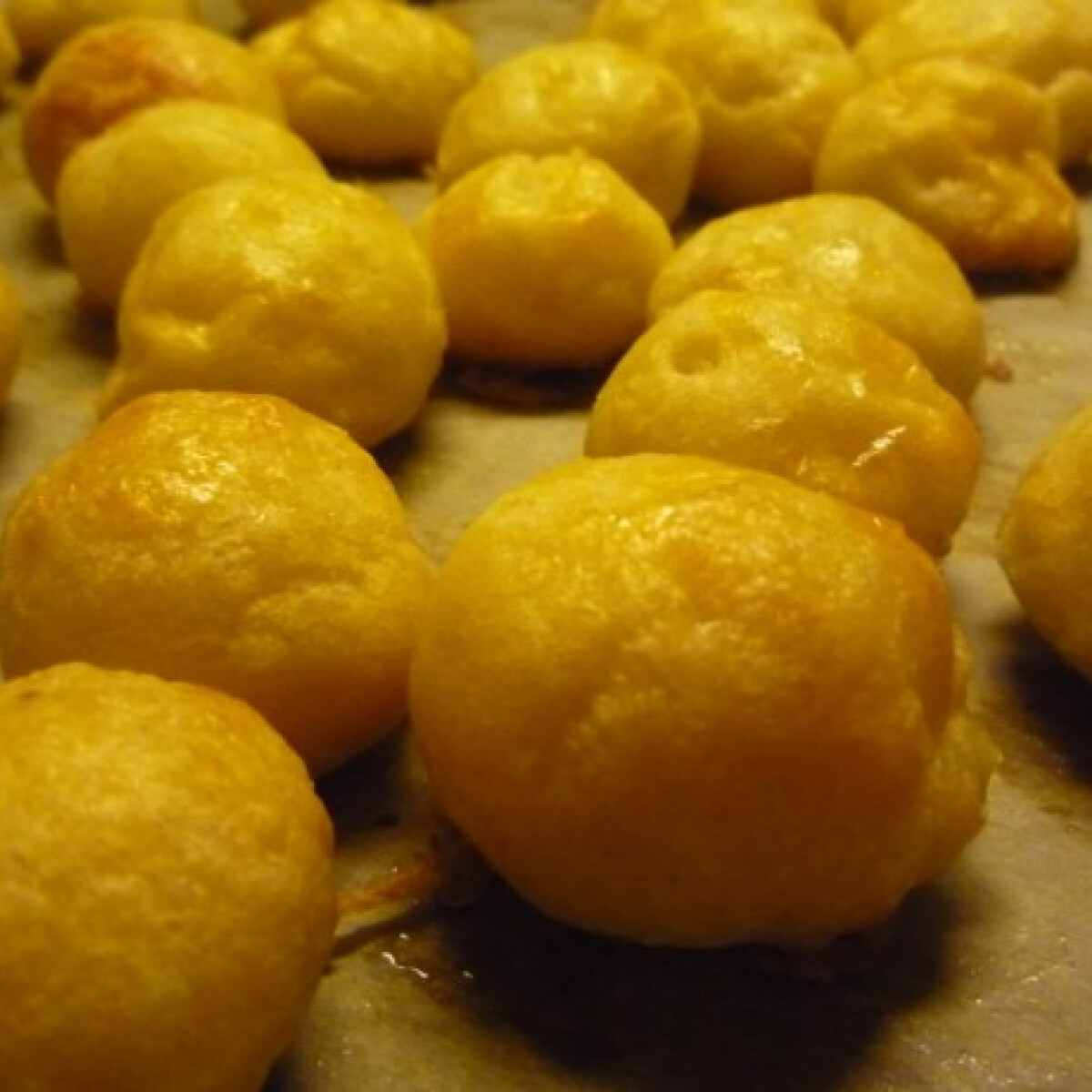 Ezen a képen: Sajtos puffancs Norbi konyhájából