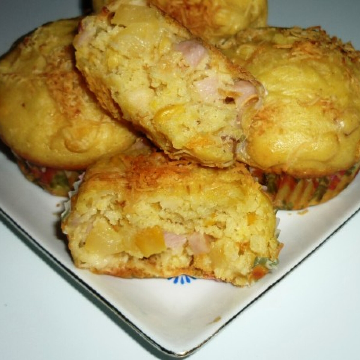 Ezen a képen: Hawai muffin