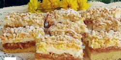 Almás, habos, reszelt sütemény