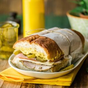 Cubano szendvics