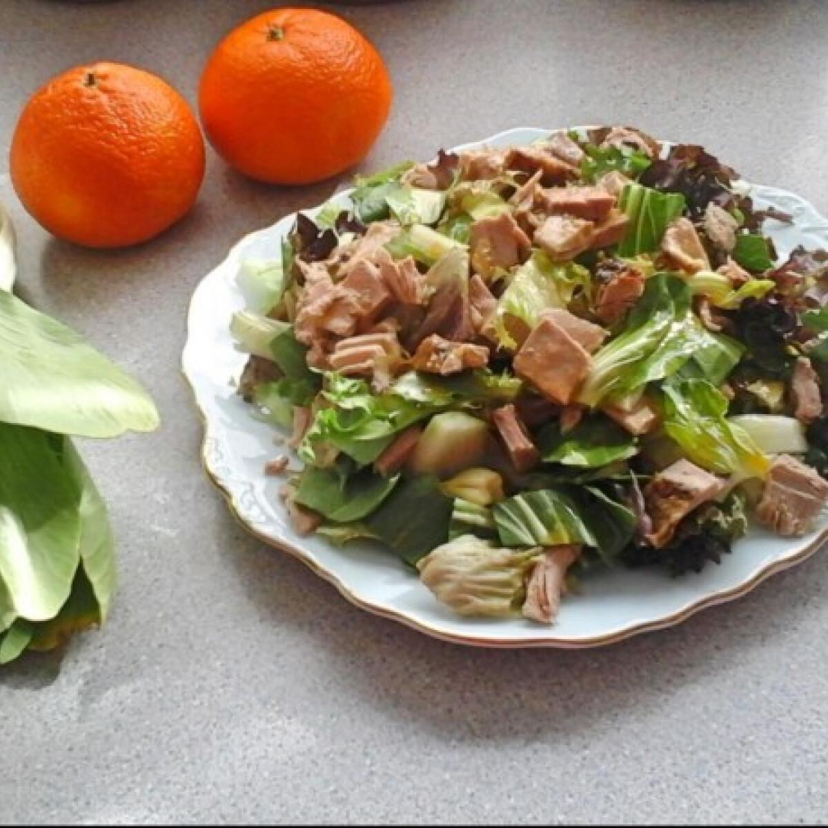 Mandarinszószos kacsasaláta