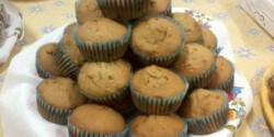 Fahéjas-mézes muffin