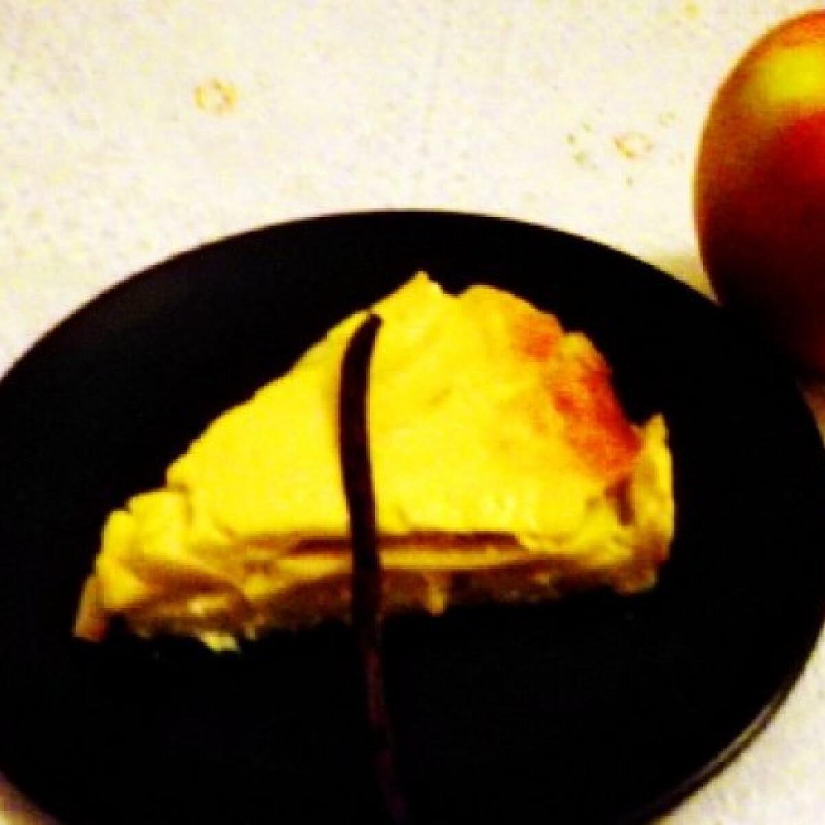 Ezen a képen: Francia almás pite