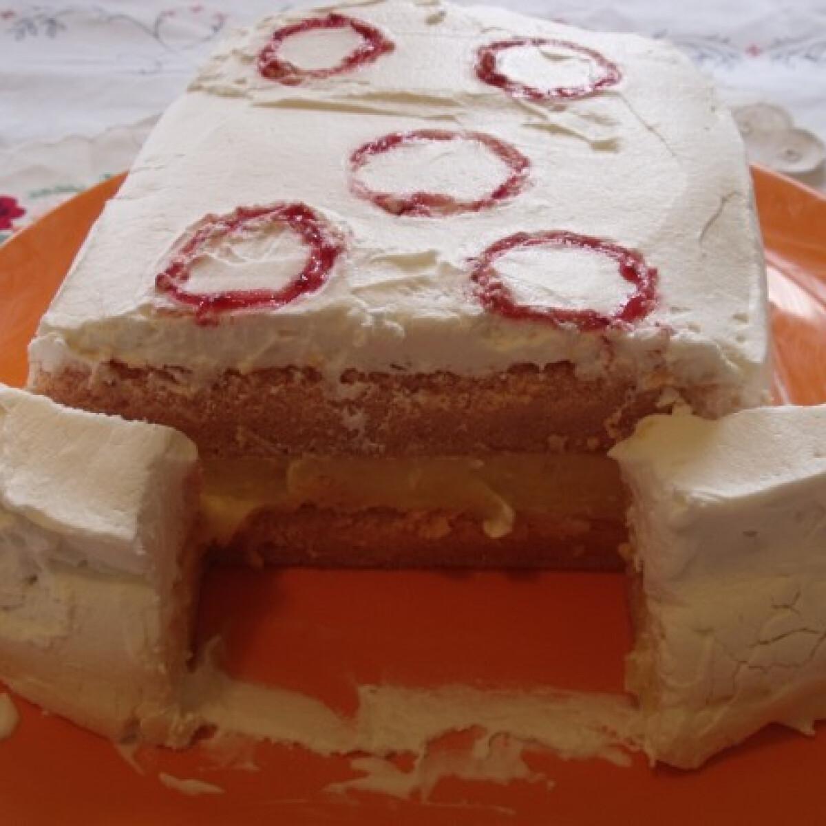 Ezen a képen: Vattacukor torta