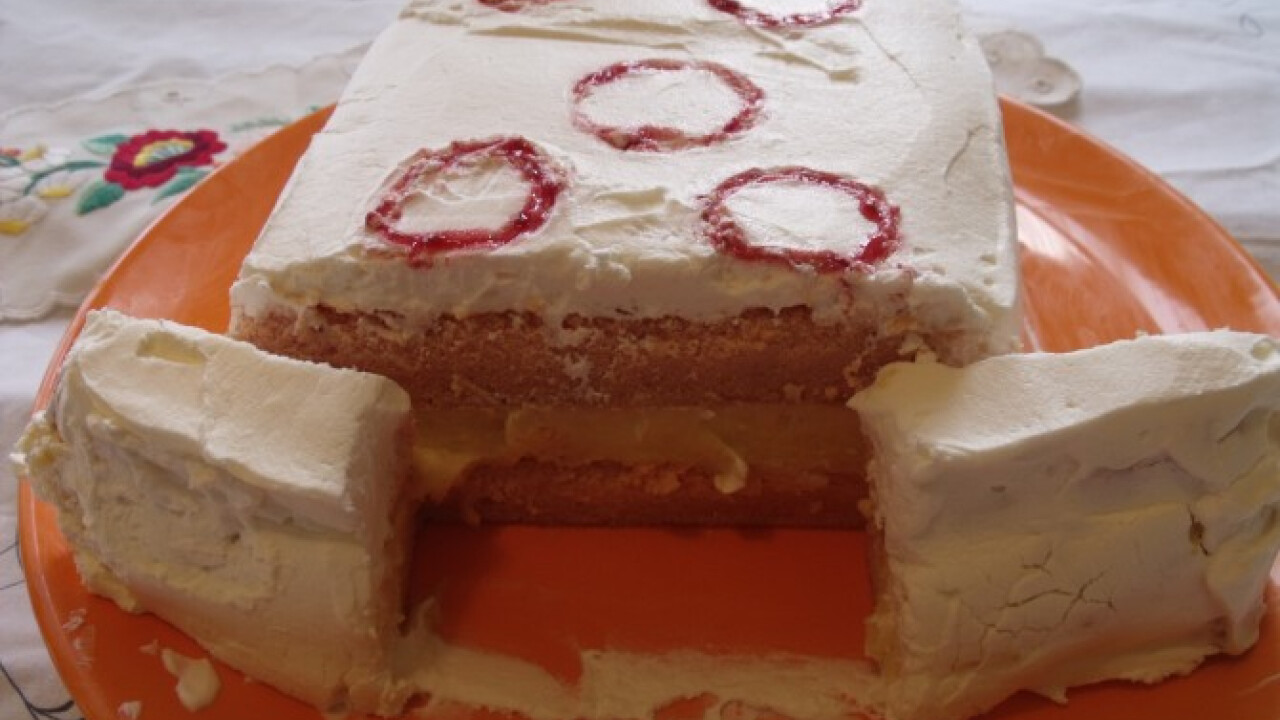 Vattacukor torta
