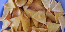 Egészséges házi tortilla chips 2.