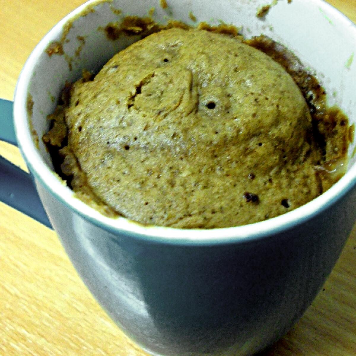Ezen a képen: Kakaós bögrés süti mikróban
